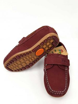 Vicco - Filet Leather Shoes - Maroon - Hanse shoes