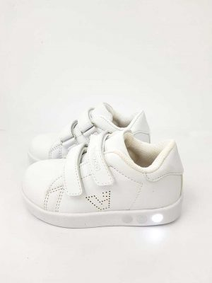 Vicco - Oyo Lighted Sport Shoes - White - Hanse shoes