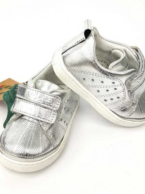 Vicco - Leather Baby Foot - Silve - Hanse shoes