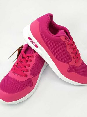 Vicco - Girls Lace-Up Sport Shoes - Fuchsia - Hanse shoes