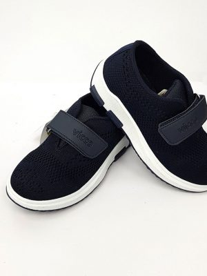 Vicco - Velcro Sport Shoes - Navy - Hanse shoes