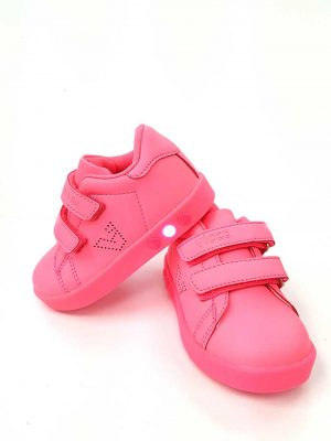 Oyo Lighted Sport Shoes - Fuchsia - Hanse shoes