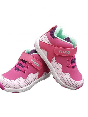 Velcro Sneakers-Pink - Hanse shoes