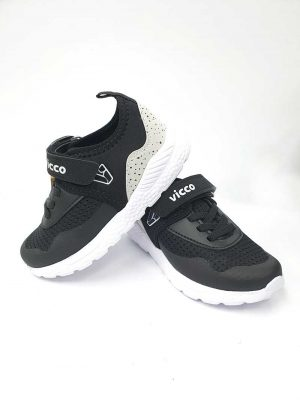 Velcro Sneakers - Black - Hanse shoes