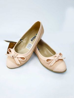 Bowed Ballet Shoes- Powder - Hanse shoes